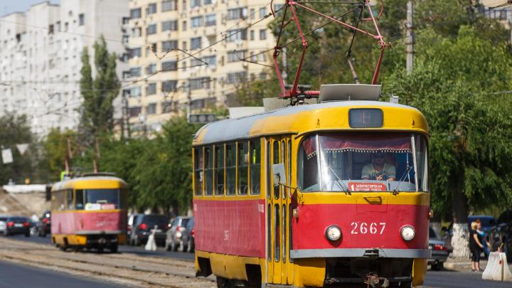 Коронавирус убил маршрут волгоградского трамвая