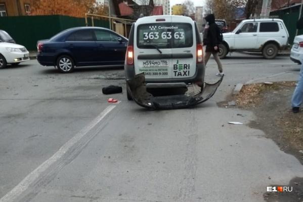 Таран от таксиста погрузил пострадавшего водителя в трясину юридических разбирательств