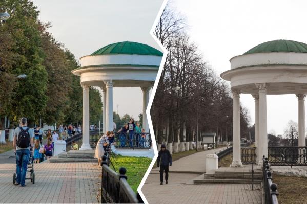 В Ярославле действует режим самоизоляции