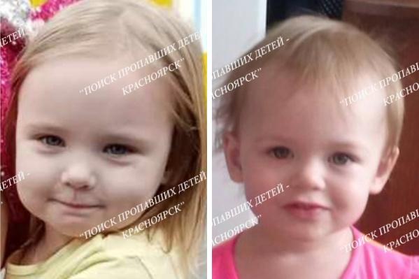 Из дома на правом берегу пропали две малышки.Слева — Таисия, справа — Мирослава