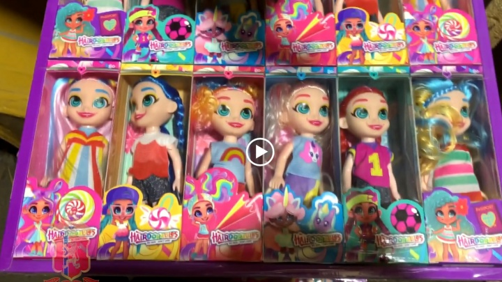На рынке в Красноярске изъяли партию поддельных игрушек на 2 миллиона рублей
