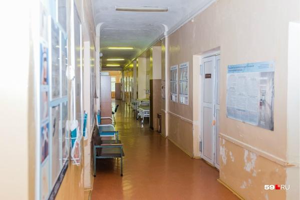Женщина рожала в горбольнице № 6. Это фото сделано в ее коридоре