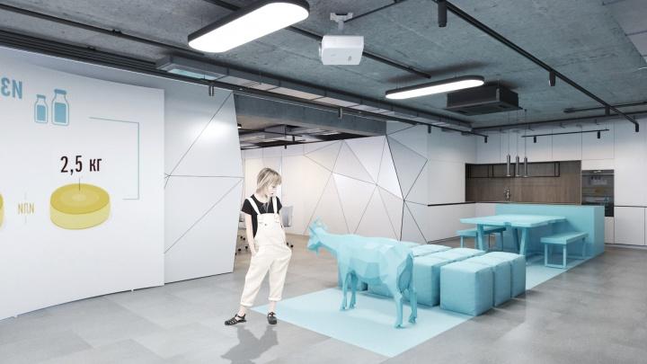 В Екатеринбурге откроют «Ельцин-центр» про коз: смотрим интерьеры