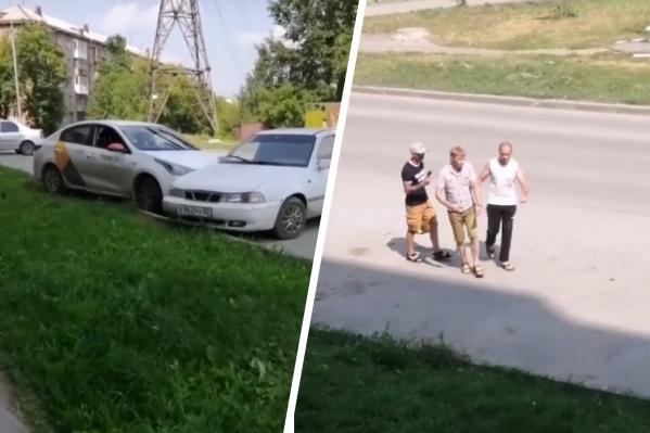 Очевидцы ДТП не дали водителю скрыться с места аварии