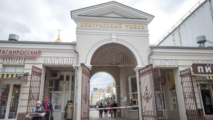 Глава ростовской администрации решил избавить Центральный рынок от ларьков