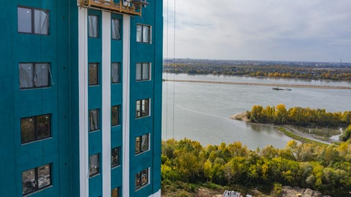 Квартира с видом на реку или лес: возле Заельцовского парка строят 24-этажку с закрытым двором