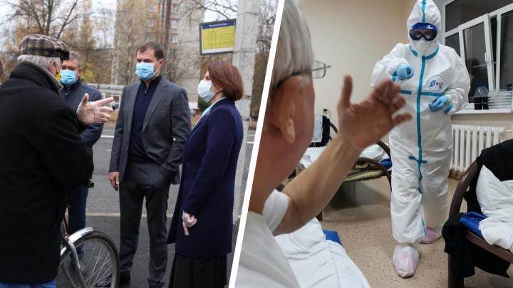 Фото из COVID-госпиталя и разборки на Тутаевском шоссе: что случилось в Ярославле за сутки. Коротко