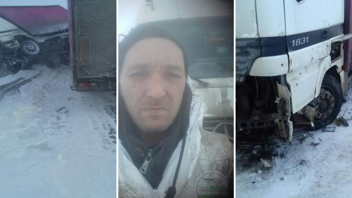 Тюменского дальнобойщика, застрявшего в тундре, вытащили другие водители