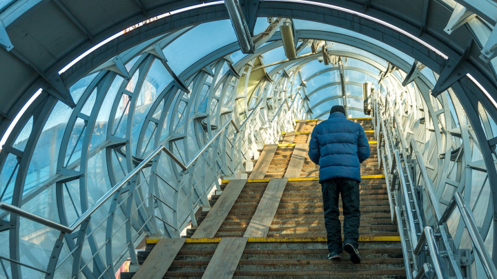 На Московском шоссе построят надземный пешеходный переход