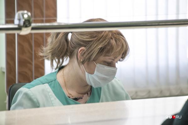 Пациентка, у которой подозревают коронавирус, госпитализирована и изолирована в отдельном боксе<br>