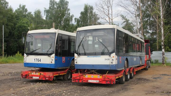 Нижний Новгород принял ещё 26 подержанных троллейбусов из Москвы