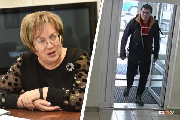 Татьяна Мерзлякова следит за историей с убийством подозреваемого в краже обоев из магазина на ЖБИ (предположительно, он на фото)