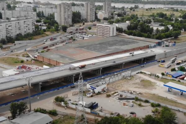 Эстакада в перспективе разгрузит плотность движения у Жигулевской ГЭС