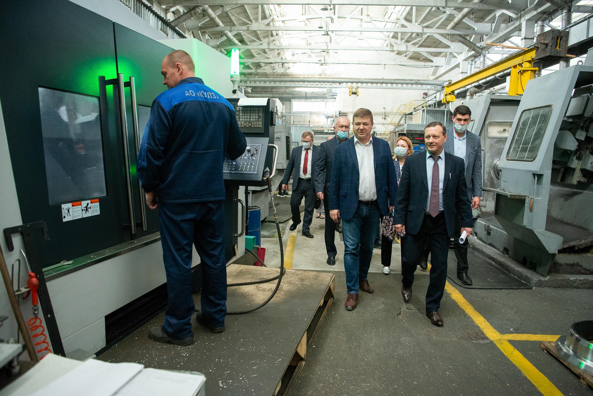 Все результаты проекта гости смогли оценить во время экскурсии по заводу при осмотре пилотного потока и эталонного рабочего места