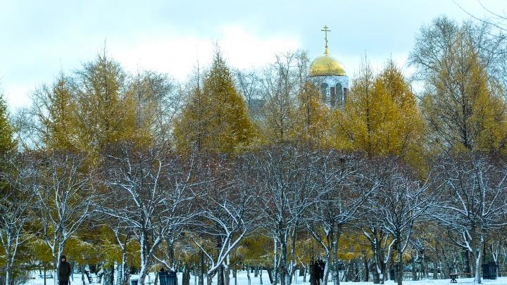 Занимайте очередь в шиномонтажки: синоптики пообещали три дня снегопада в Екатеринбурге