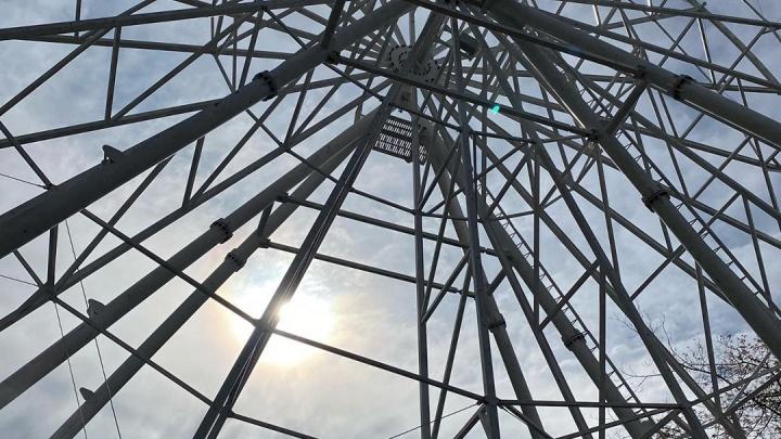 В кузбасском городе установят большое колесо обозрения. Оно будет работать круглый год