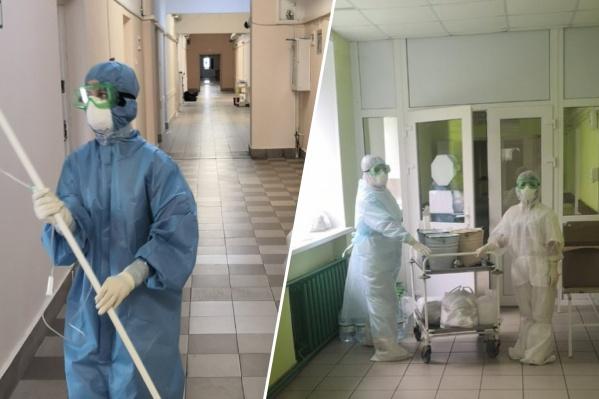 В больницу нужно больше медсестёр