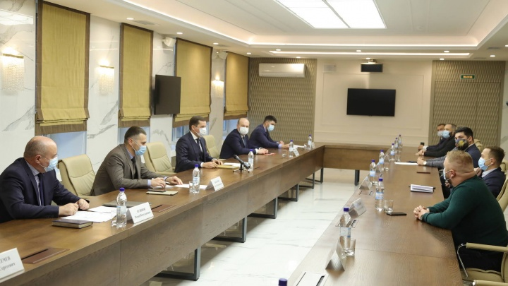 Цыбульский предложил бизнесменам Архангельска вместе продумать меры поддержки для них
