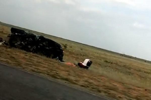 Авария произошла на трассе в Октябрьском районе 18 августа прошлого года