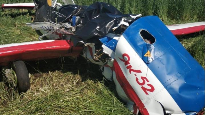 Рухнул в поле: появились видео с места крушения самолета в Самарской области
