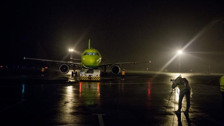 Поступил анонимный звонок о бомбе: в Новосибирске сел самолёт из Владивостока