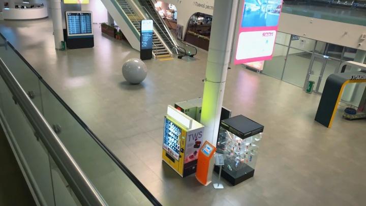 Ветер гуляет: самарец показал пустующий аэропорт Курумоч