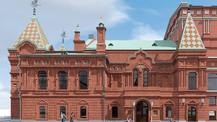 «Порадовали арочные окна»: самарский архитектор показал новый эскиз реставрации Драмтеатра
