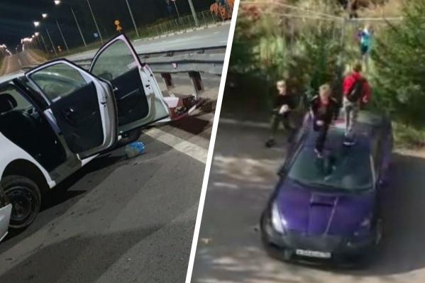 Было много происшествий с автомобилями
