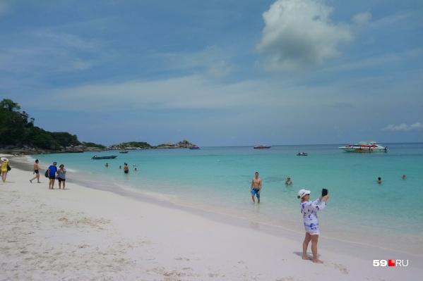 Пустые пляжи Таиланда