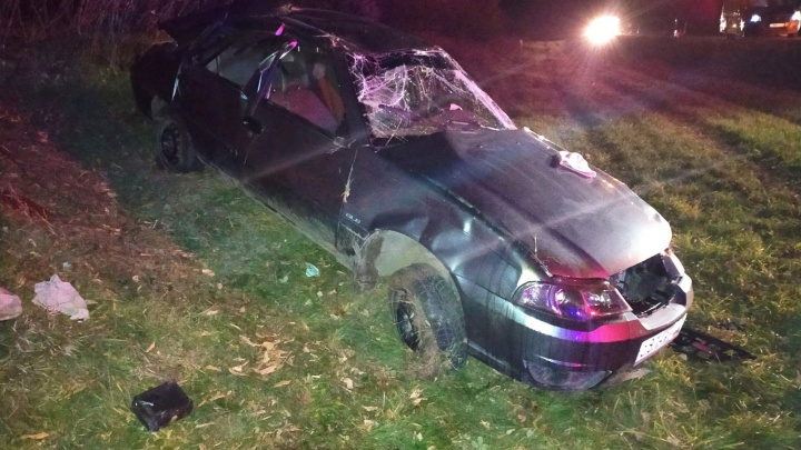 Угнал машину у деда и сел за руль пьяным: в Ишимском районе разбились подростки