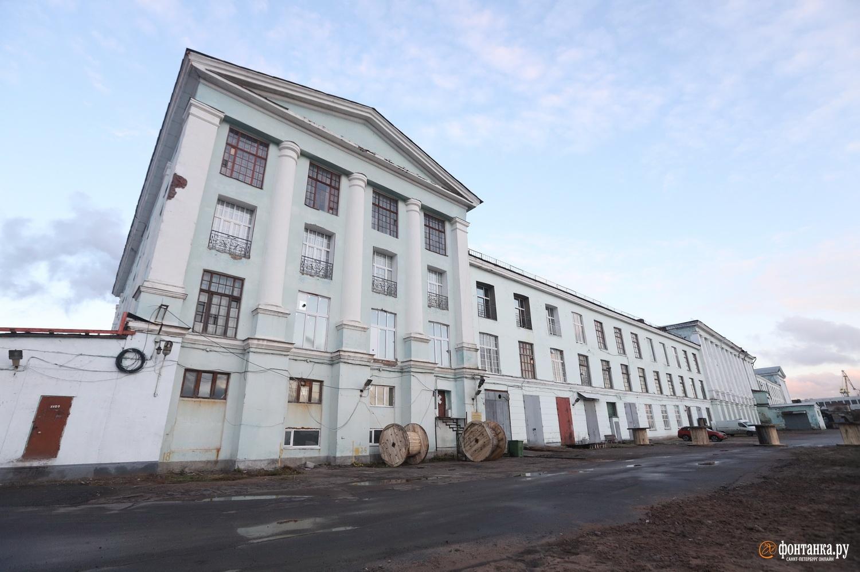 Корпус фабрики им. В. Слуцкой