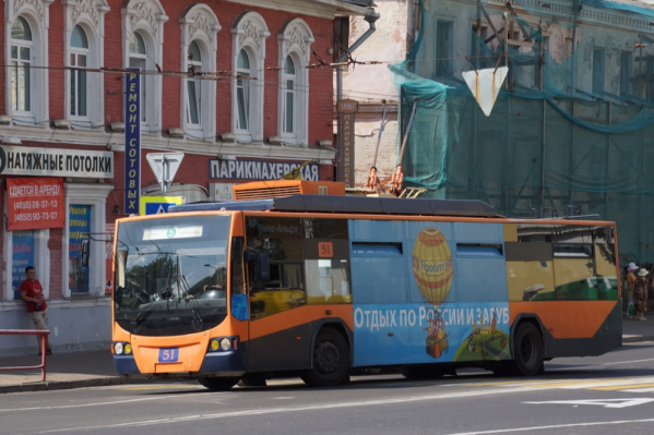 Троллейбусный маршрут закрыли из-за того, что он слишком часто ездил