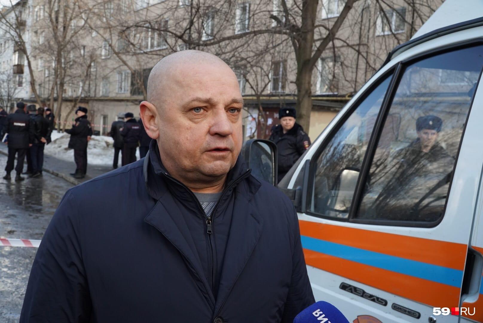 Андрей Усов выступил перед СМИ