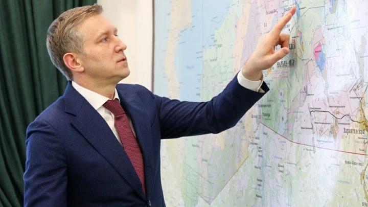 Врио губернатора НАО признал возможность объединения округа с Архангельской областью