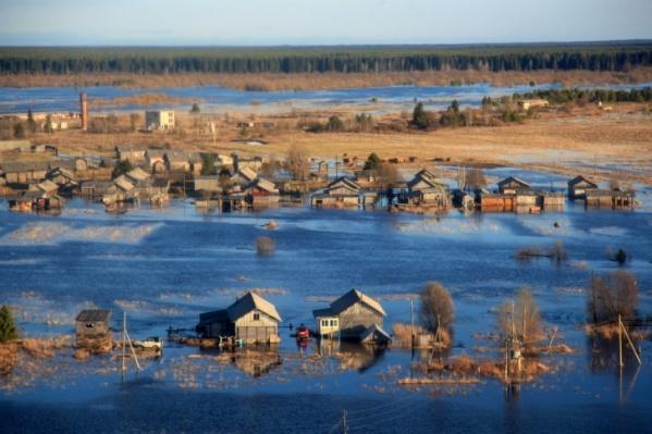 Большая вода добралась до маленьких населенных пунктов