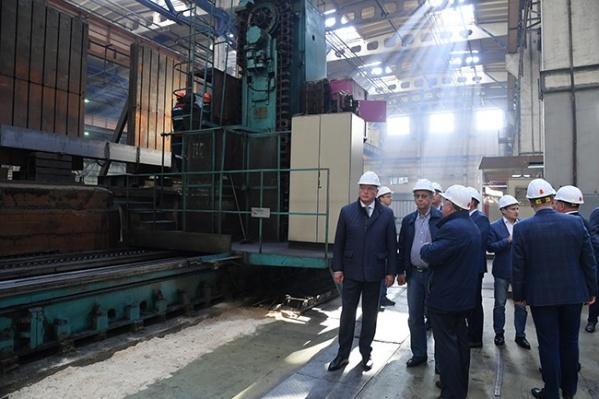 Владимир Евтушенковзаключил трёхлетнее соглашение о сотрудничестве с правительством Омской области