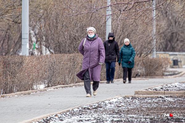 Чтобы остановить распространение коронавируса, южноуральцев просят ходить в масках