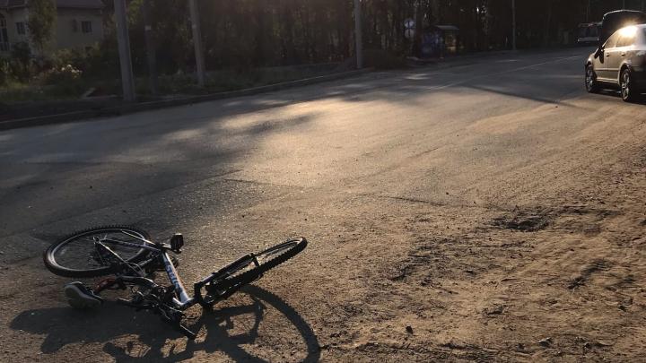 «Грустная история»: в Ярославле автомобиль сбил девушку на велосипеде. Она ищет свидетелей