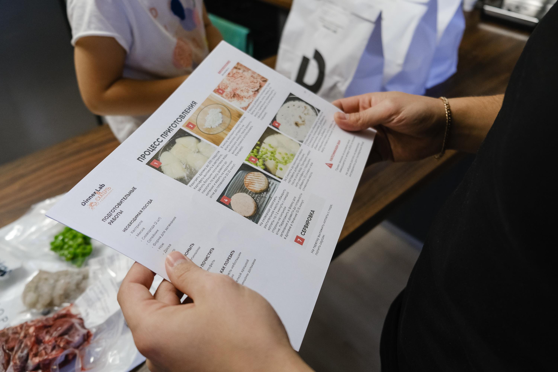 Пошаговый рецепт исключает возможность ошибки в приготовлении
