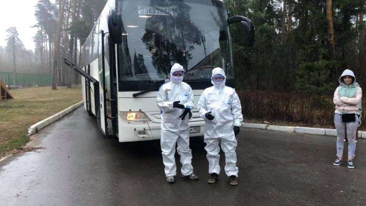 Туристов, которые прилетели в Россию из Турции и Индии, забрали в Уфу на автобусе