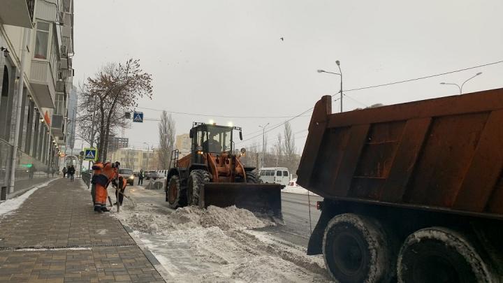 В Самаре подготовили полигоны для вывоза снега