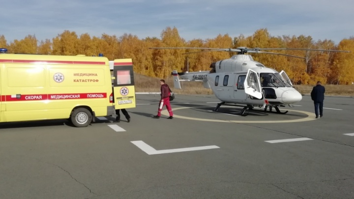 На Южном Урале не выполнили план по санитарной авиации, но готовят ещё одну площадку для вертолёта