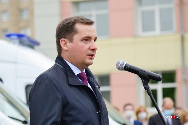 Александр Цыбульский соберет СМИ на первый брифинг после выборов