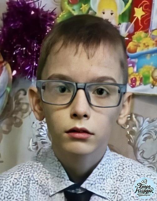 13-летний Денис Дубровин пропал 16 мая