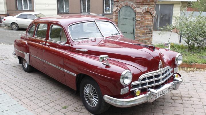 Назад в СССР. Разглядываем шикарный лимузин 1955 года, который стоил 40 тысяч советских рублей