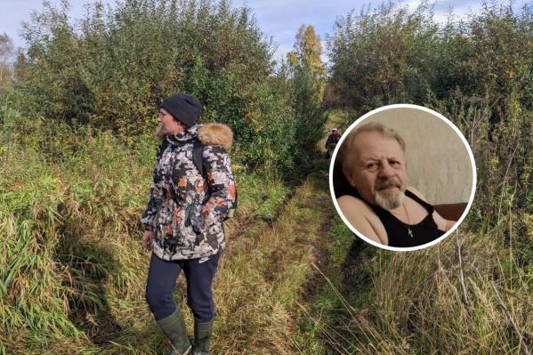 Волонтеры прочесывают лес в поисках пропавшего