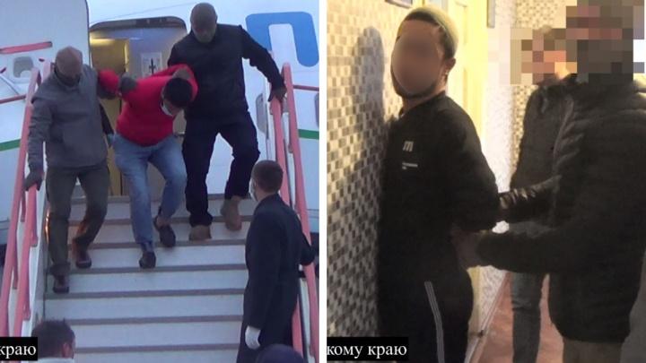 В Красноярске задержали подозреваемых в терроризме из Средней Азии