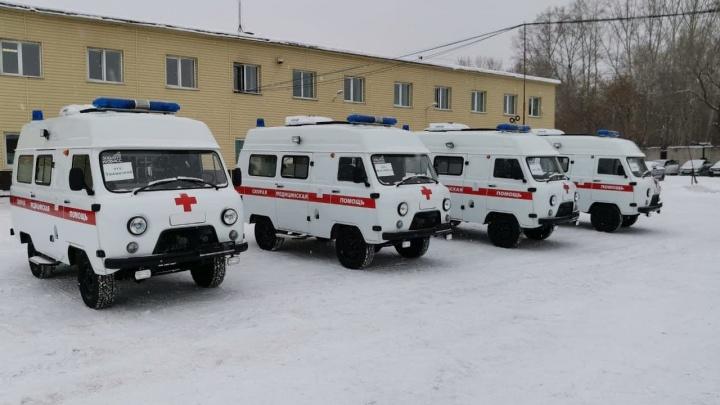 В больницы Кузбасса поступили новые автомобили скорой. На них потратили больше 20 млн рублей