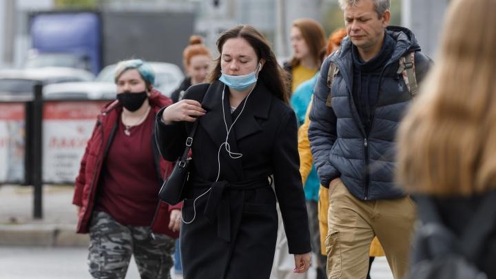Новый рекорд осени: коронавирус в Волгоградской области поразил за сутки 172 человека, двое умерли