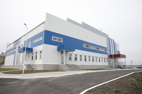 На строительство ФОКа было выделено 104 миллиона рублей из федерального бюджета
